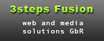 3steps Fusion - web and media solutions GbR
